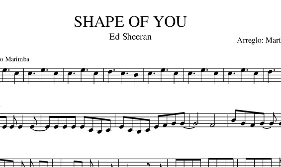 Shape of you (Ed Sheeran) - Violín solo