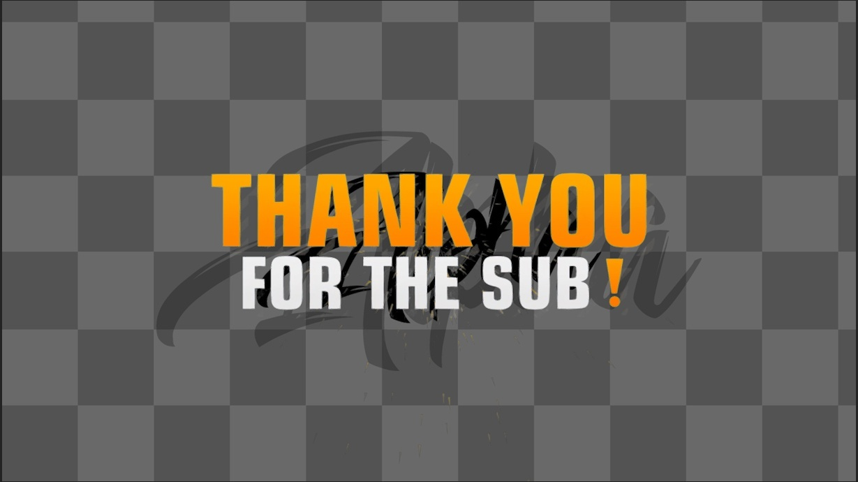 Stream Sub & donation message pack!