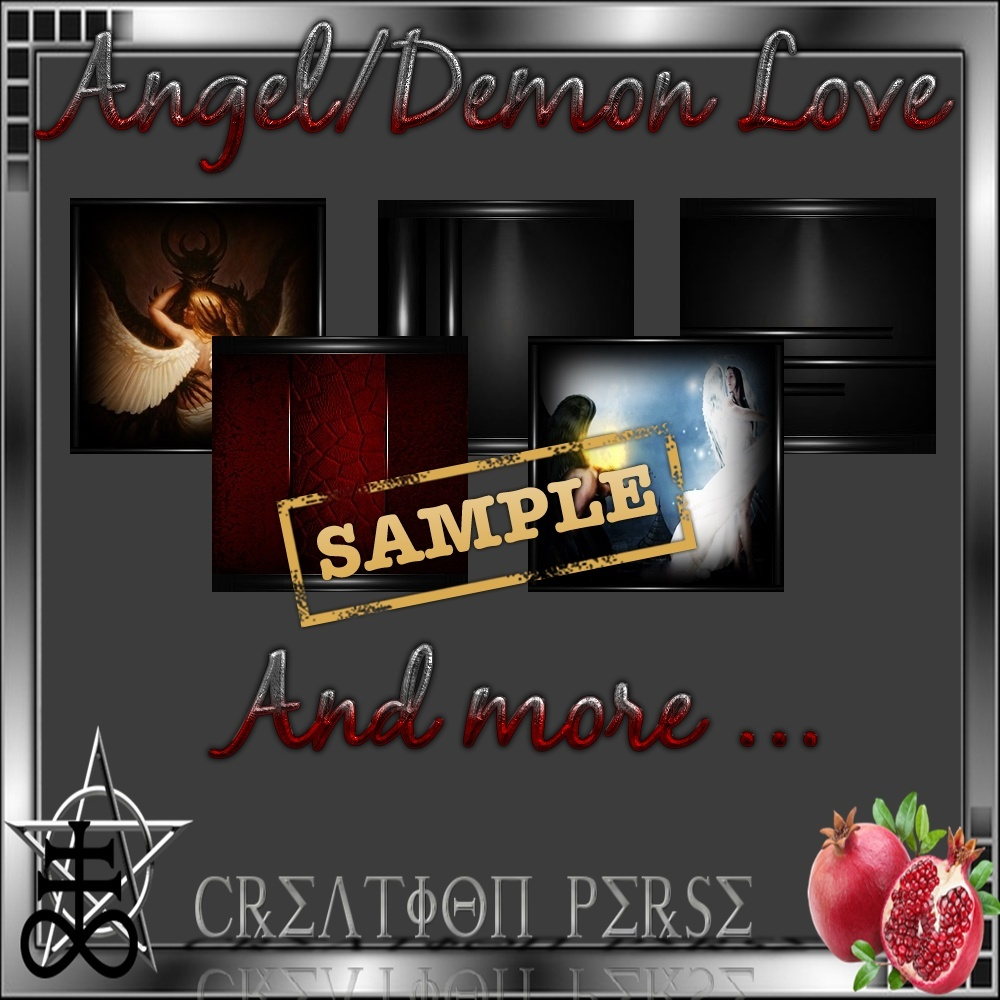 Angle/demon love Mesh room
