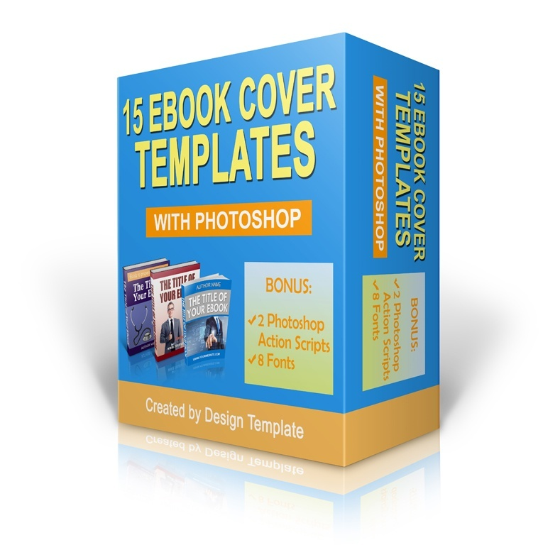 15 Ebook Cover Templates with Photoshop