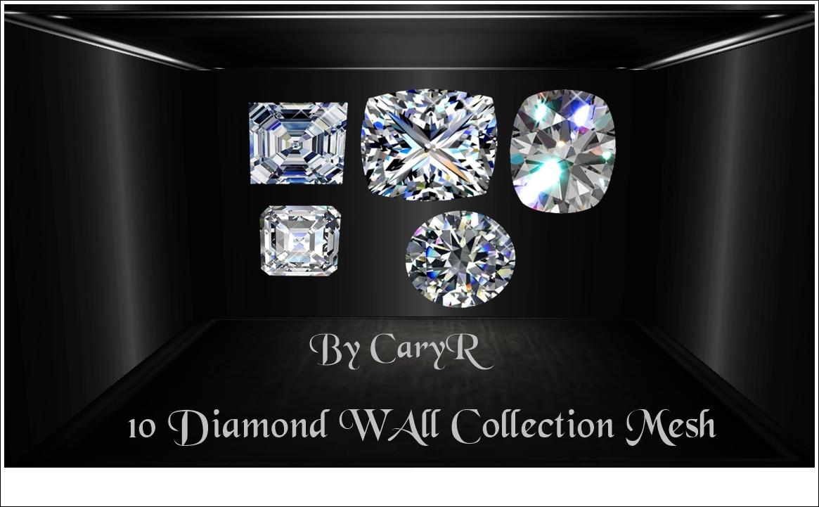 10 Diamond WAll Collection Mesh