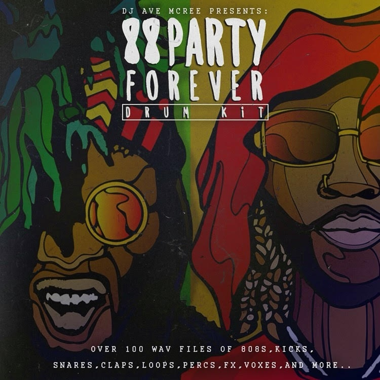 88 party forever drumkit