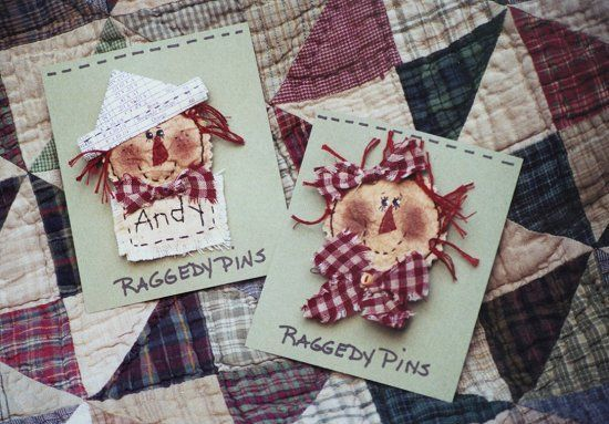 #324 Raggedy Pins