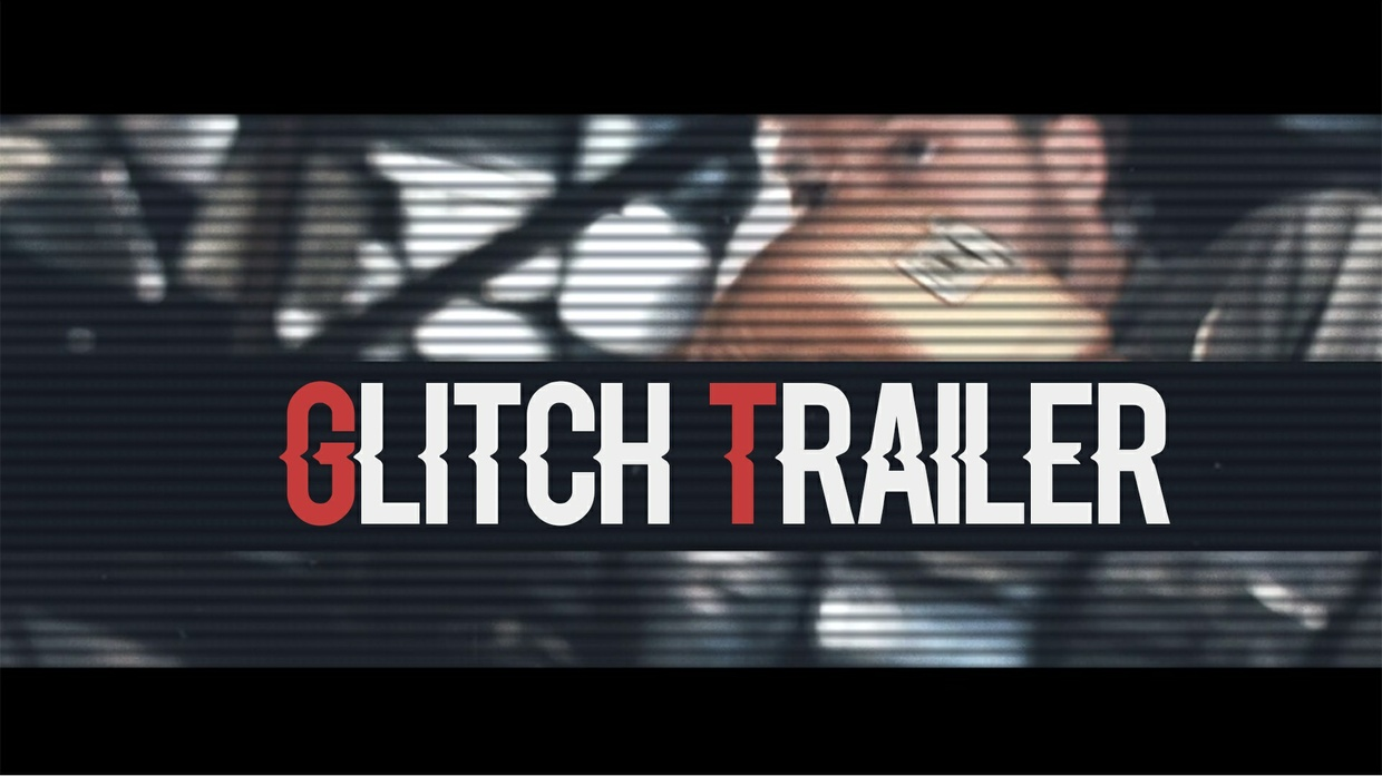 Template Glitch Trailer sony vegas 12 13