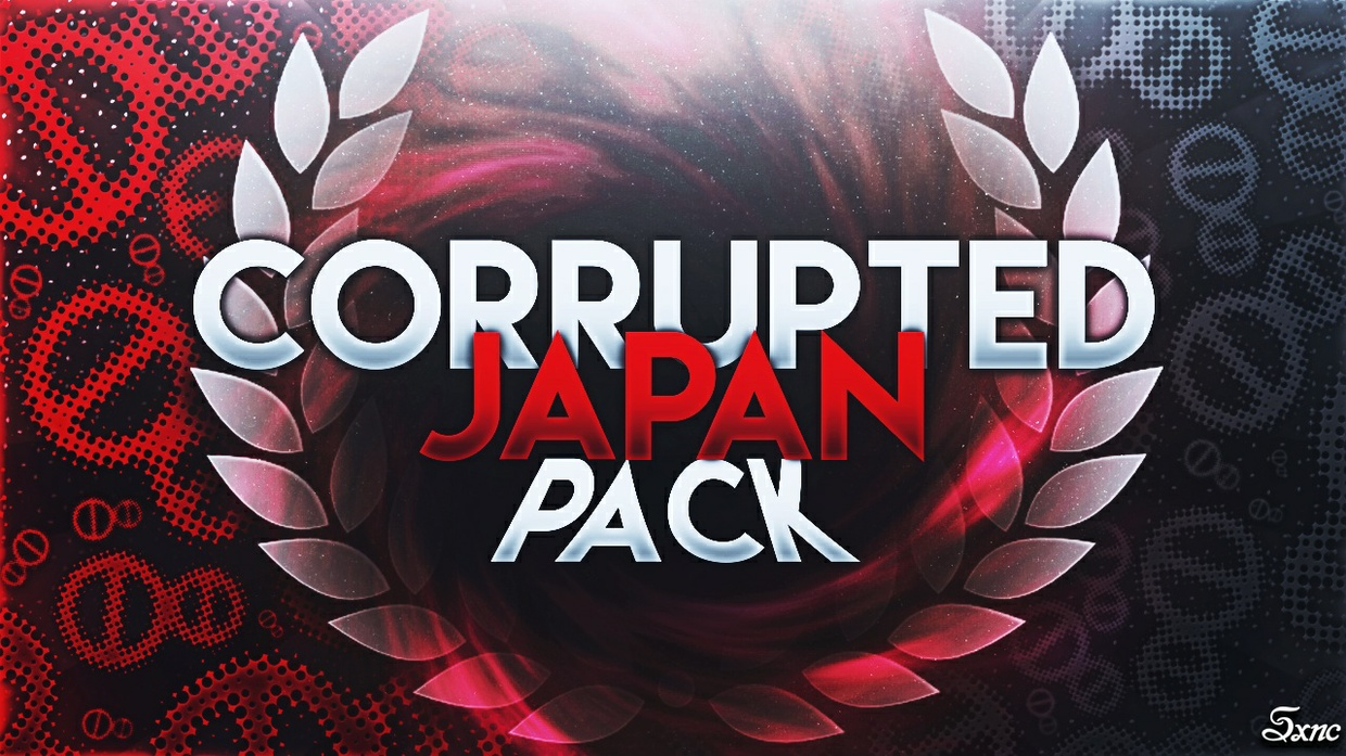 Corrupted Japan Custom Textures Pack