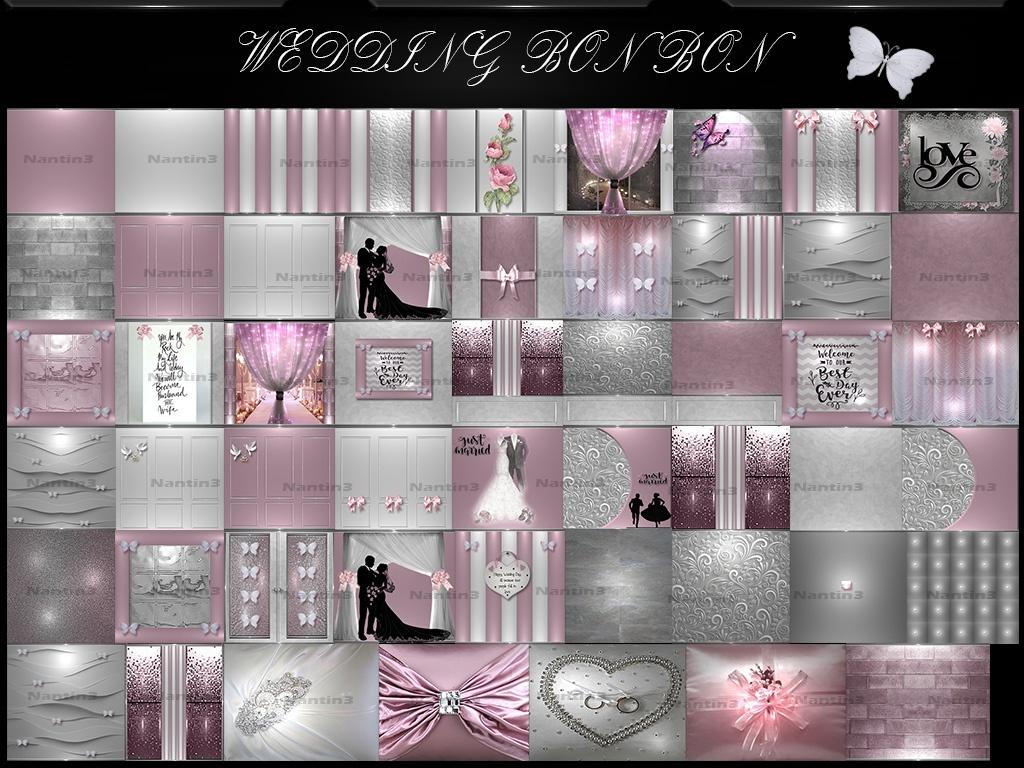 WEDDING BON BON FILES  51Textures 256x256jpg.
