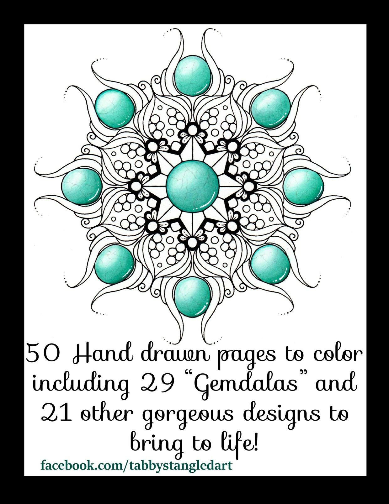 Gemstones, Medallions and Other Pretty Things Adult Coloring Book PDF