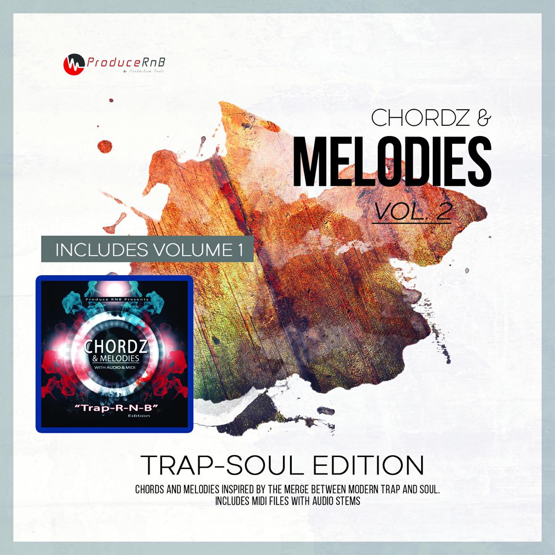 Chordz & Melodies Vol. 2 + Vol.1