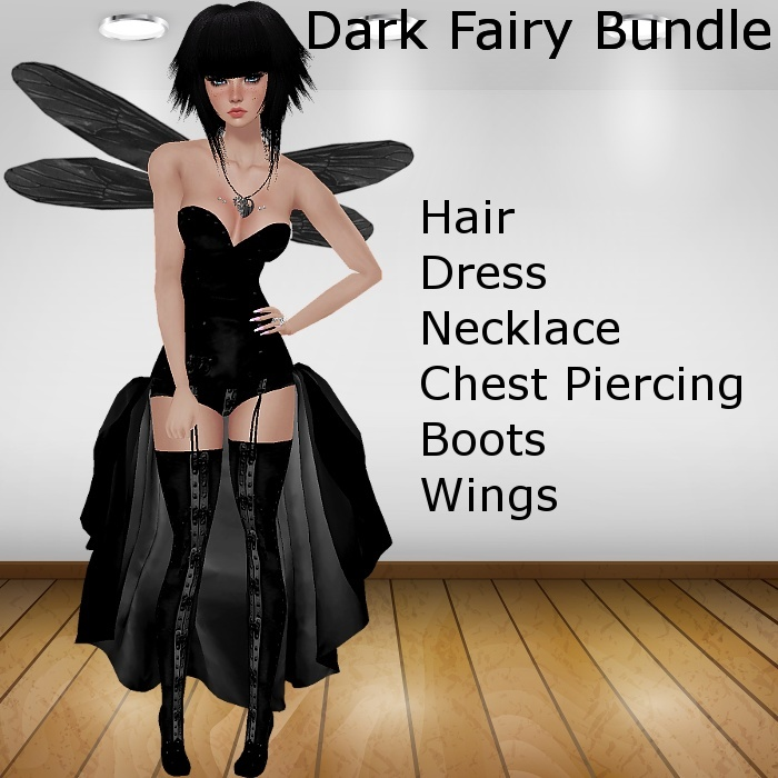 Dark Fairy Bundle (Catty Only)