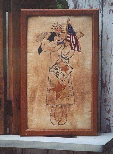 #340 Americana Angel E Pattern