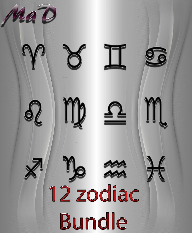 MaD 12 ZODIAC BUNDLE ONLY CATTY