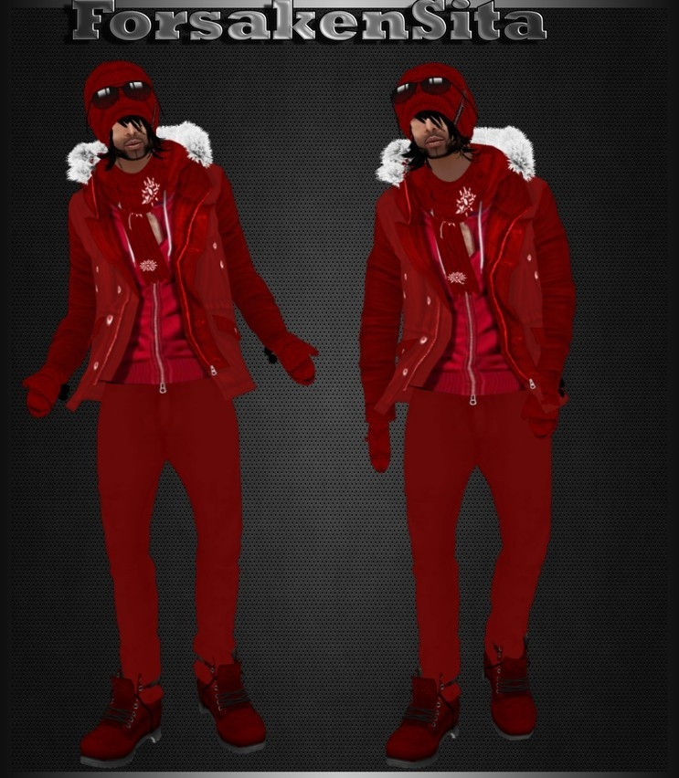 Male Winter Set Catty Only!!