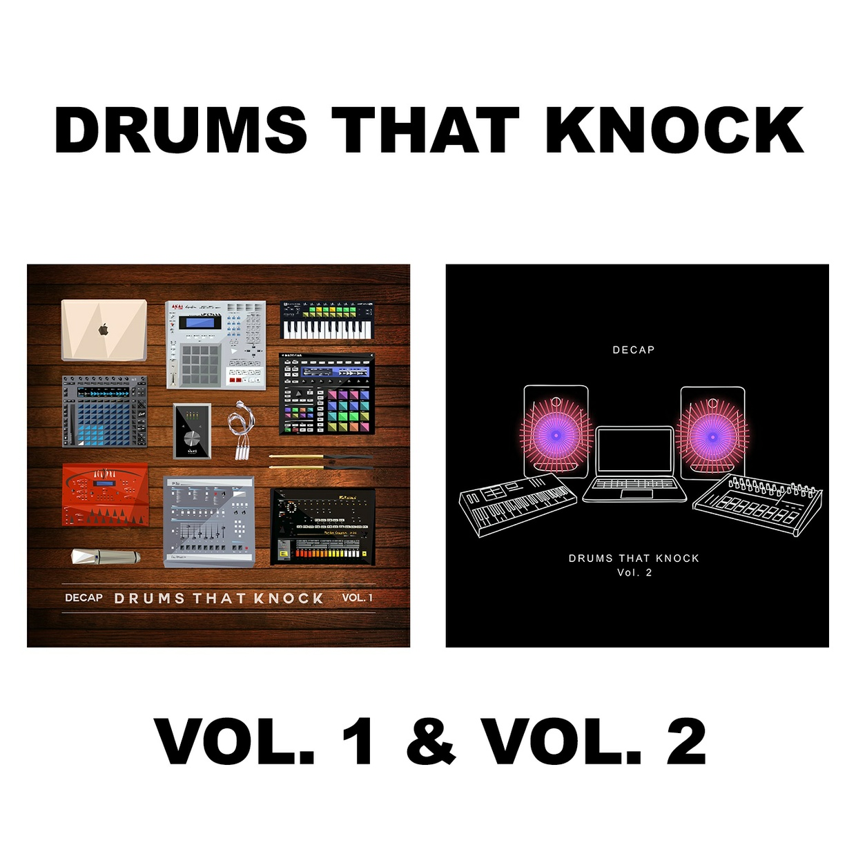 Drums That Knock Vol. 1 & 2 (Bundle)