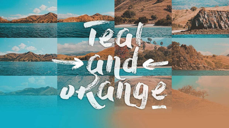 Teal and Orange Lightroom Preset Pack