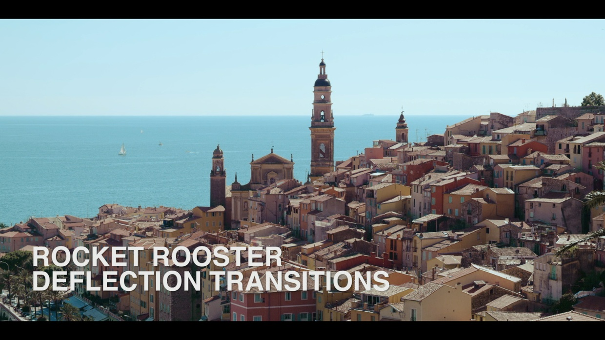 Rocket Rooster Deflection Transitions