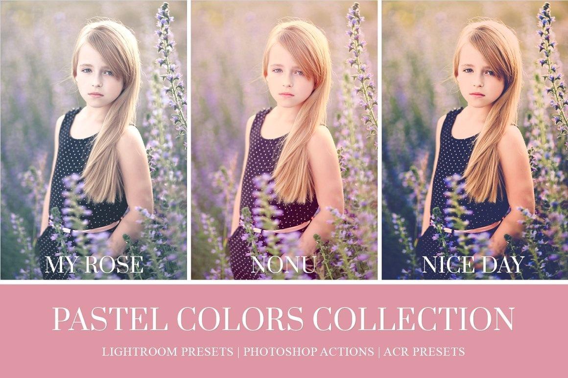 Pastel Colors Lightroom Presets