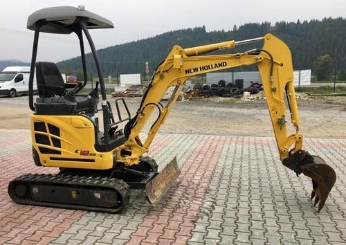 New Holland E18SR Mini Crawler Excavators Service Repair Workshop Manual Download