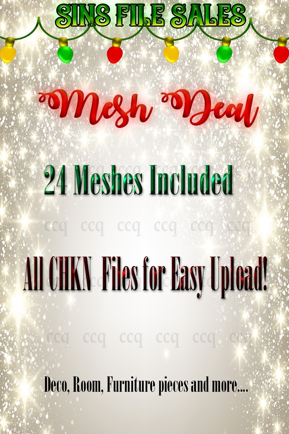 Mesh Deal *24 Meshes