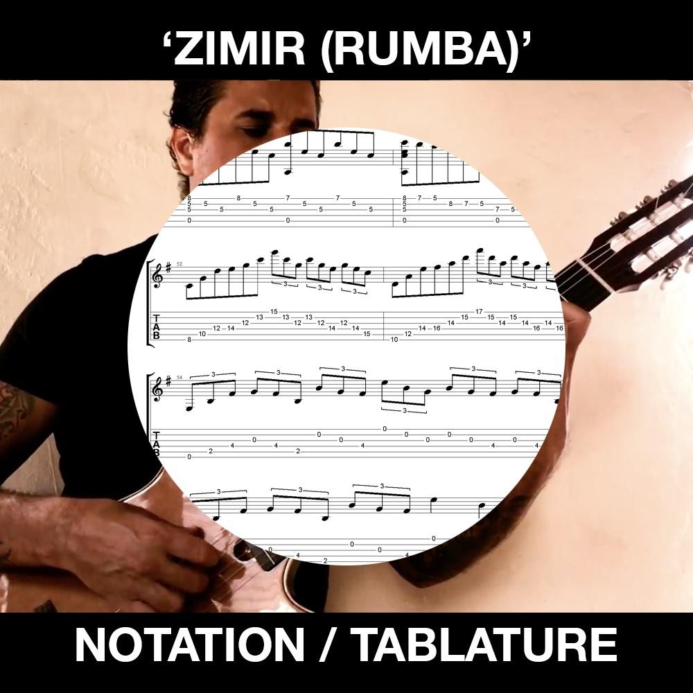 ZIMIR (Rumba) Solo Guitar - Ben Woods