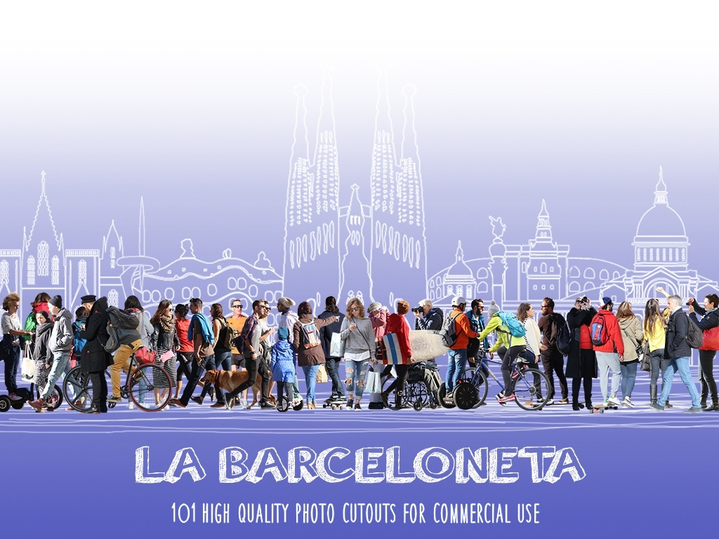 LA BARCELONETA - 101 Photo Cutouts