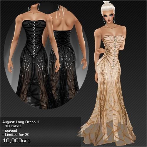 2013 Aug Long Dress # 1