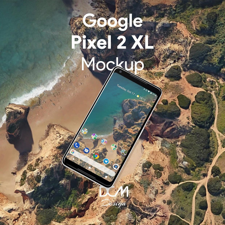Pixel 2 XL Mockup