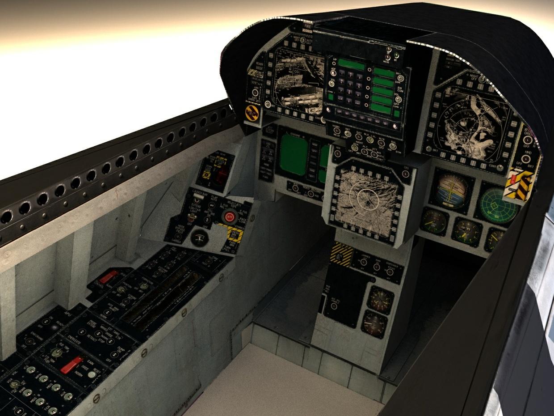 F/A-18C Grey camo