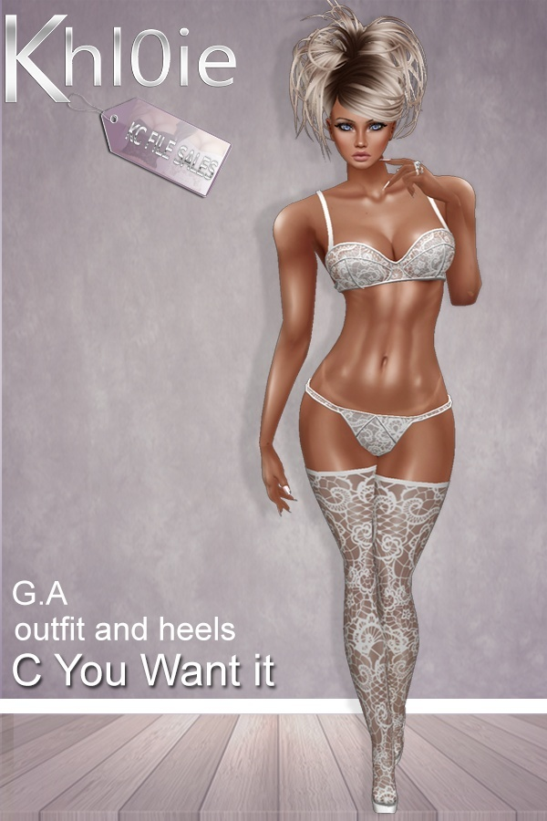 C You want it lingerie and boots