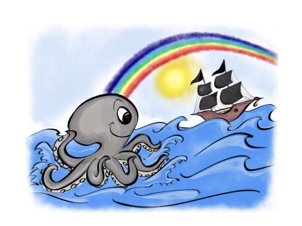 The Octopus that Found the End of the Rainbow