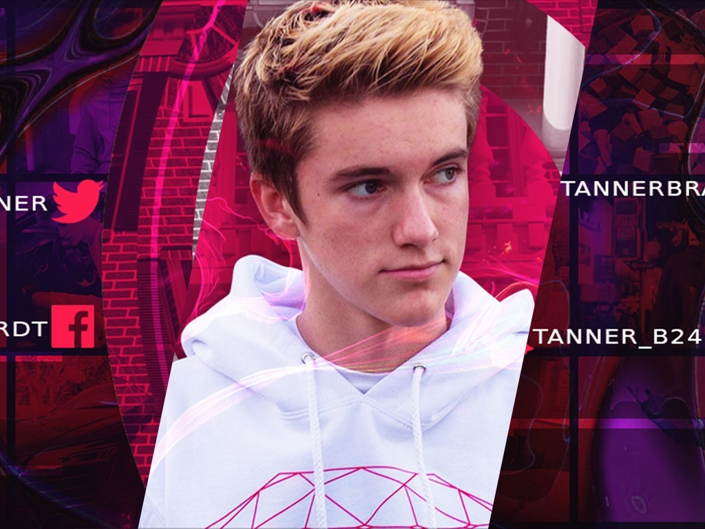 Tanner Braungardt Abstract YouTube Banner Project File
