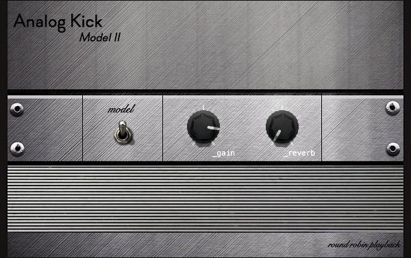 Analog Kick M02 | Round Robin Kick Drum Rompler