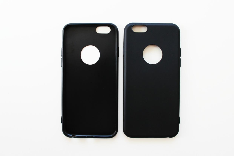 Coque en silicone pour iPhone