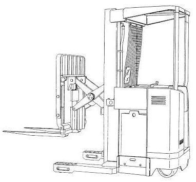 Hyster Electric Reach Truck B264 Series: N30XMXDR3, N45XMXR3 Spare Parts List, EPC