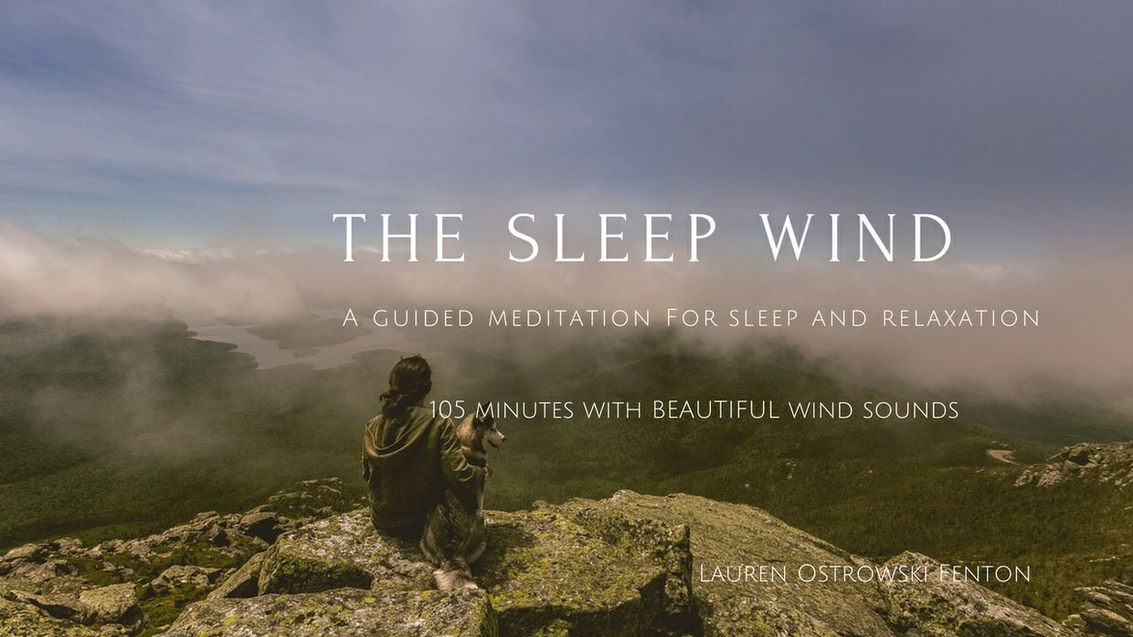 THE SLEEP WIND a guided meditation for your sleep with wind sounds 105 minutes