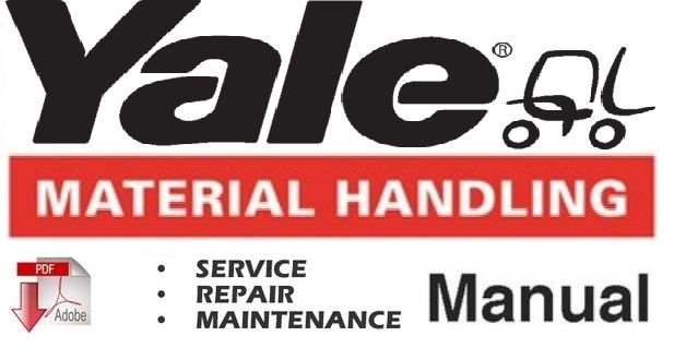 Yale ESC 030 - 035 - 040 - 050 ZA Lift Truck Service Repair and Maintenance Manual