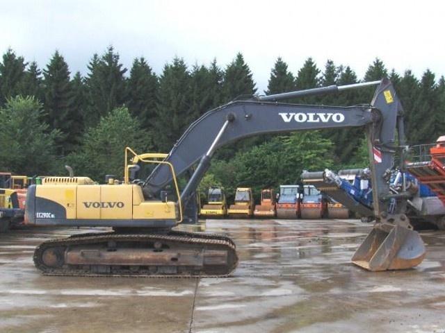 VOLVO EC290C NL EC290CNL EXCAVATOR SERVICE REPAIR MANUAL - DOWNLOAD