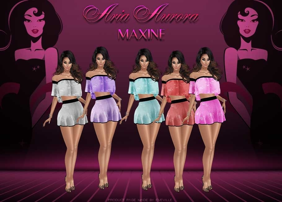 Maxine Outfits+PSD.Resell Rights!!