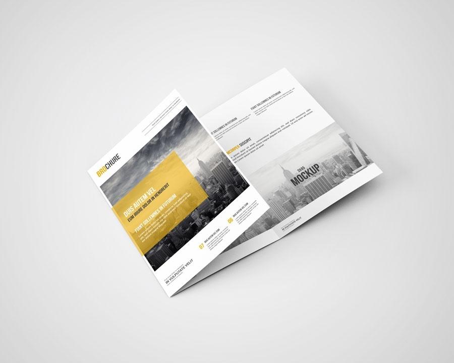 3xA5 Brochure Mock-Ups
