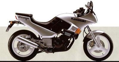 1986 KAWASAKI NINJA250R GPZ250R MOTORCYCLE SERVICE REPAIR MANUAL