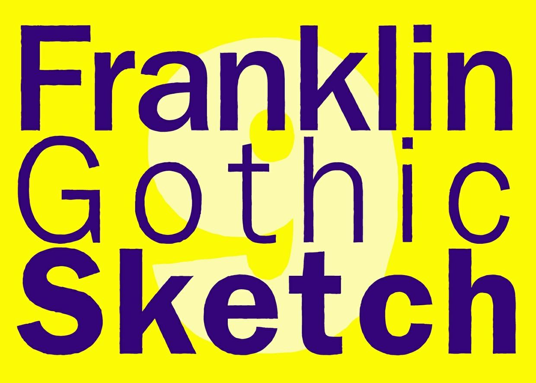 Franklin Gothic Sketch