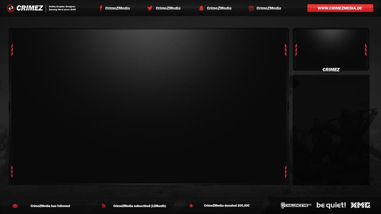 #12 Stream Twitch Overlay inkl. PSD