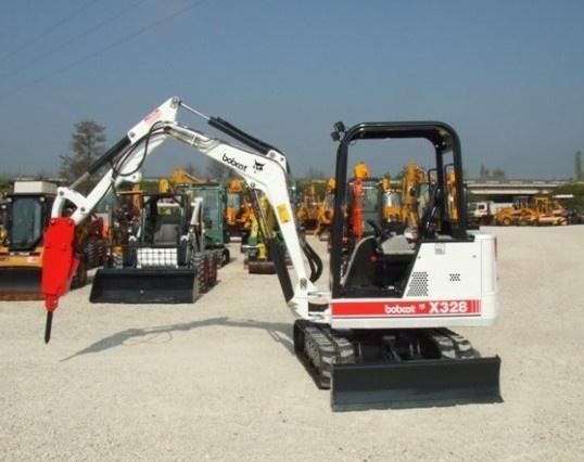 Bobcat X325, X328 Hydraulic Excavator Service Repair Manual (S/N 514013001 , 516611001 & Above)