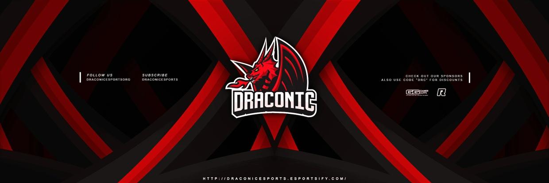 Draconic Esports Header PSD
