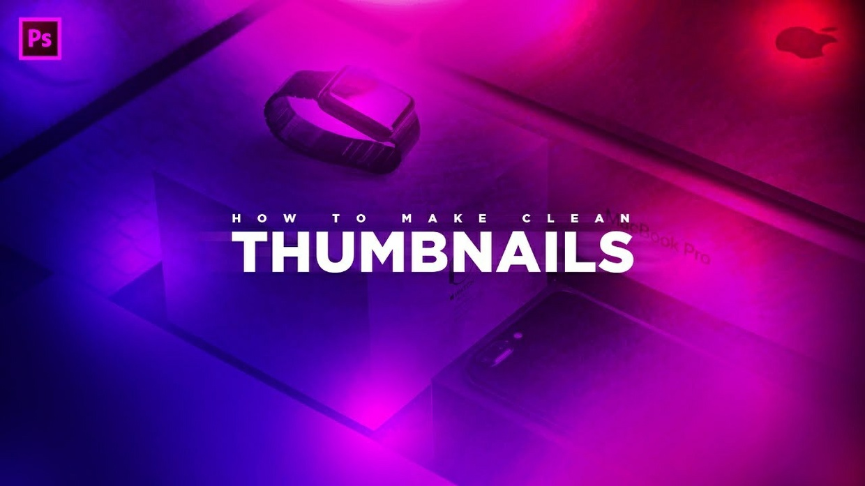 FREE Colorful Thumbnail Template