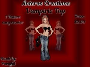 Vampiric Top