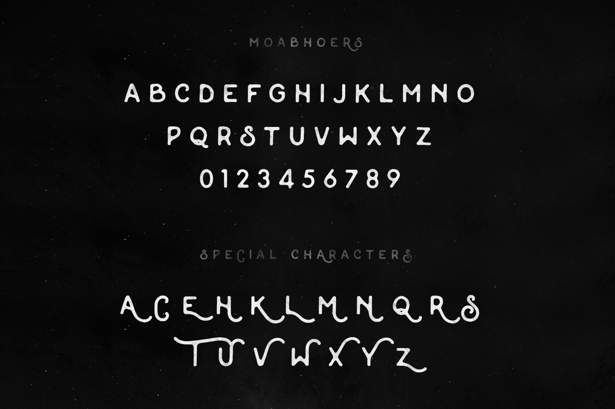 Moabhoers Typeface