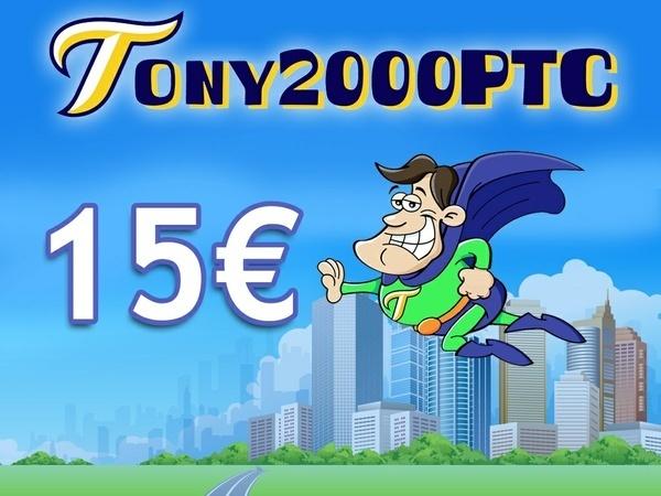 15 € di credito per Tony2000ptc + ebook