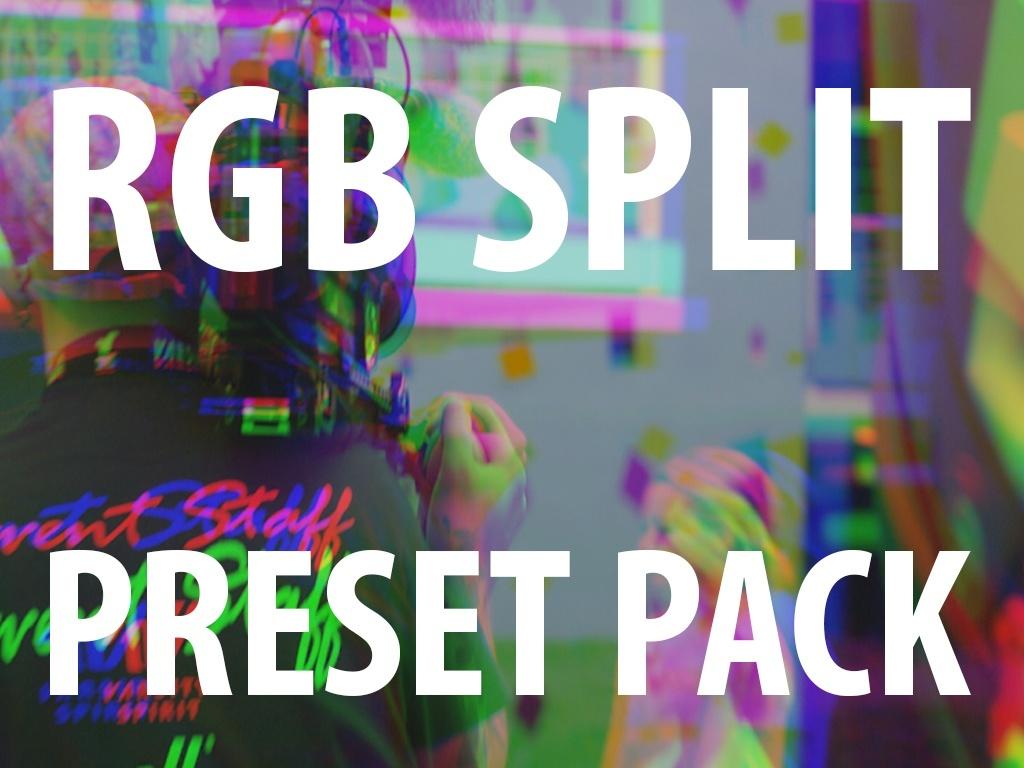 Premiere Pro Preset: RGB Split