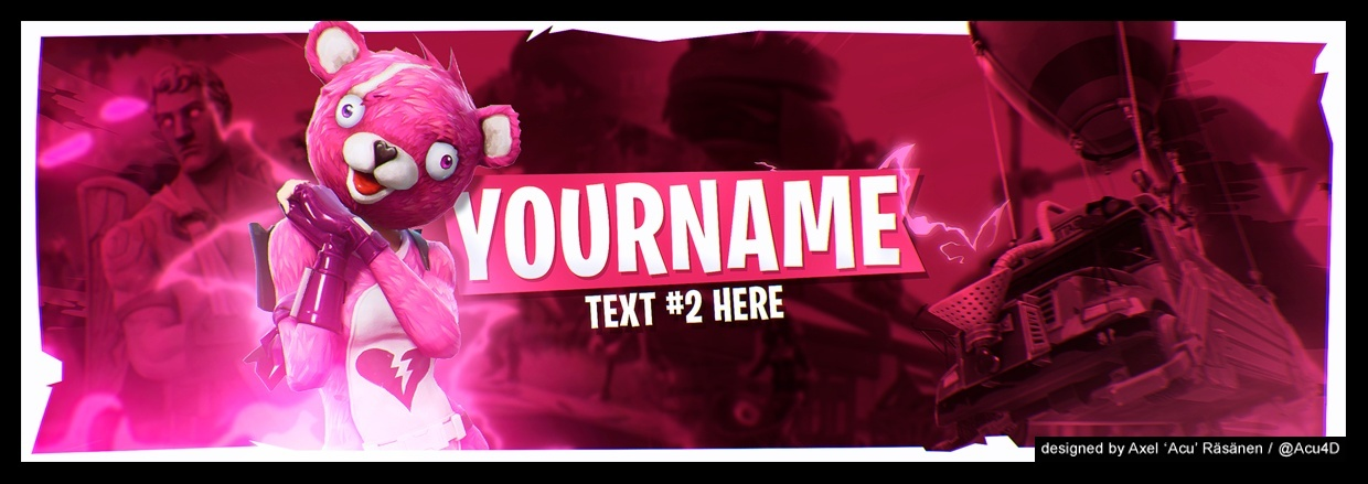 Fortnite Twitter Header #2