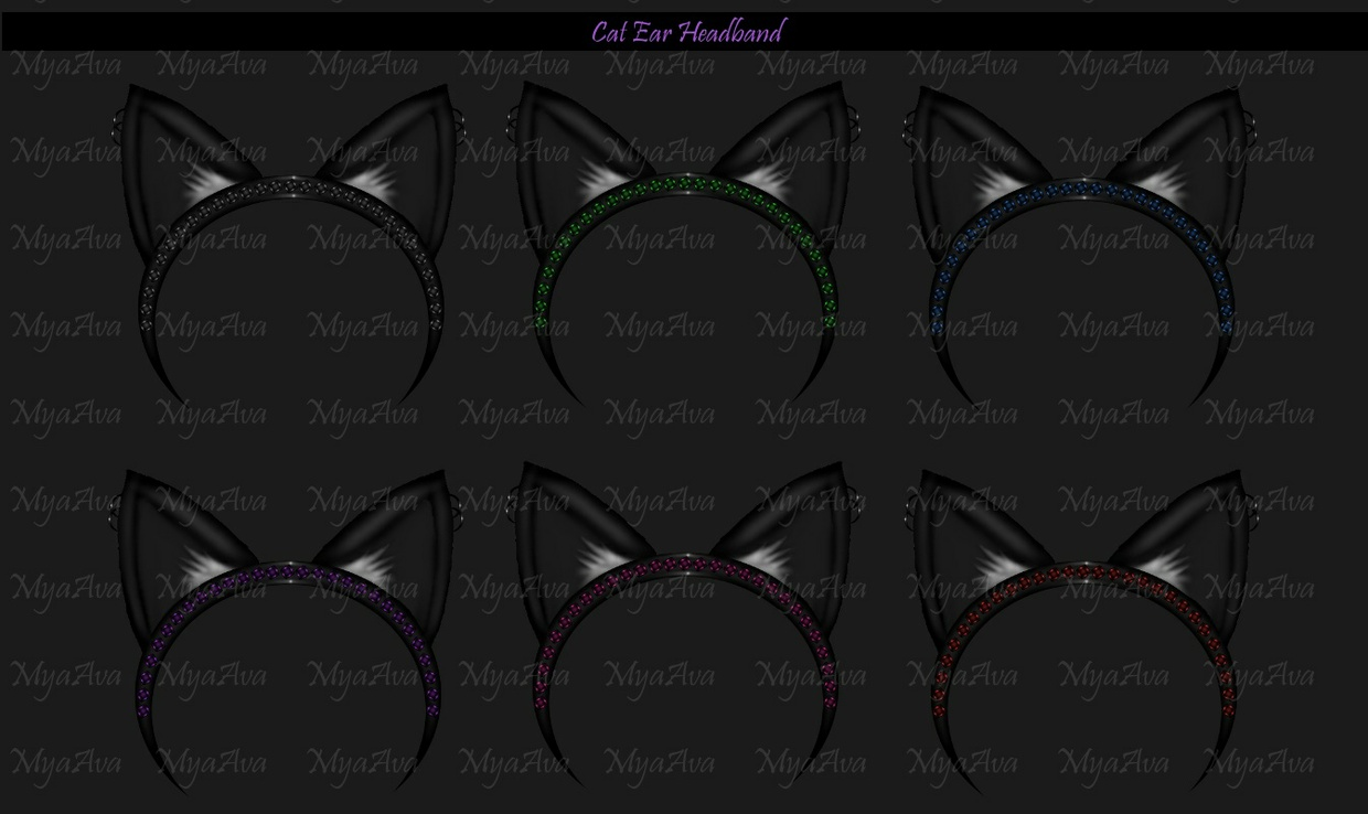Cat Ear HeadBand 2